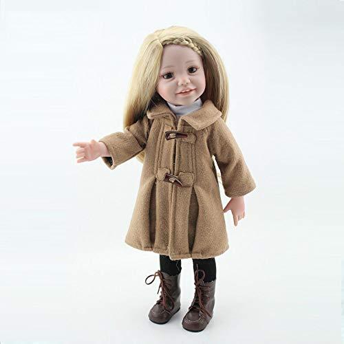 lquide Wiedergeborene Babypuppen Simulation Silikon Vinyl 18 Zoll 45cm Magnetische Mund Lebensechte Toy Girl Geburtstagsgeschenk -