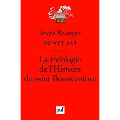 La théologie de l'Histoire de saint Bonaventure
