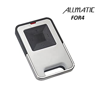 ALLMATIC FOR4 remote control, 433,92Mhz 4-channel Rolling code transmitter. Range up to 120m!!!
