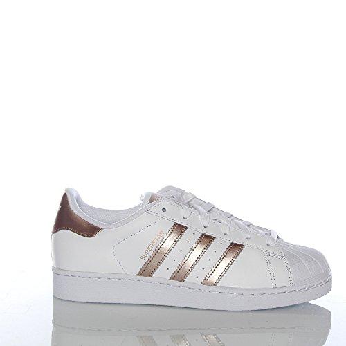 adidas damen superstar sneaker weiß ftwwht/supcol/ftwwht
