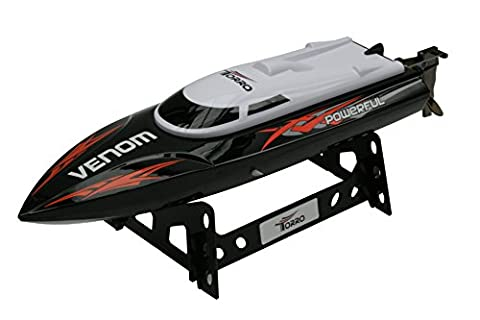 Torro U002 - RC Speedboot Schiff, 2.4 GHz, schwarz