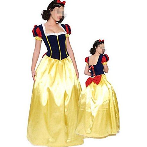 Abschnitt Kostüm Student - DLucc Langen Abschnitt von Disneys Schneewittchen Kleid Codemultiplex- Halloween-Party Kostüme , xl