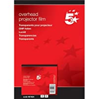 5 Star OHP Film Laser Colour Printer [Pack of 50]