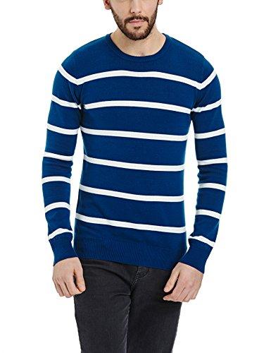 Bench Herren Pullover OEUVRE, Gr. Large, Blau (Blue BL190) Preisvergleich