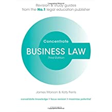 Business Law Concentrate: Law Revision and Study Guide