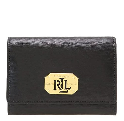 LAUREN RALPH LAUREN 2 IN 1 ID WALLET (BLACK)