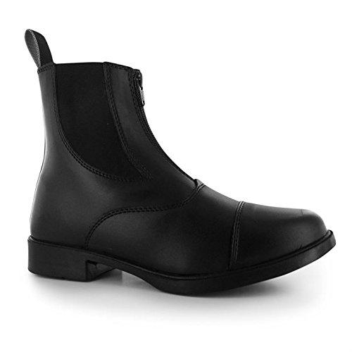 Requisite Darwen Damen Reitstiefelette Reitschuhe Reit Boots Stiefelette Schuhe Schwarz 5 (38)