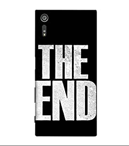Fuson Designer Back Case Cover for Sony Xperia XZ ( Love Quotes Inspiration Emotion Care Fun Funny )
