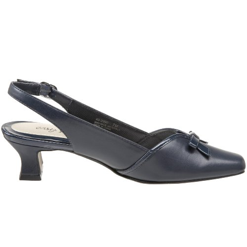 Easy Street Incredible Damen Schmal Eckig Pumps Schuhe Größe Neu New Navy