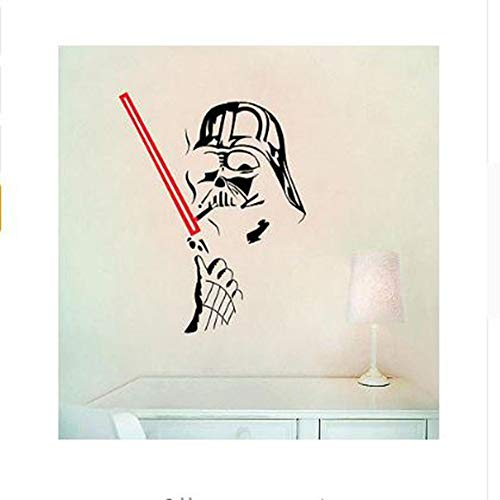 CHENYAN Wandaufkleber Star Wars Wall Stick Star Of Death Art Star Wars Wall Decal Detachable 3D Wall Sticker Home Decor Art Clone Boy'S Room Decor
