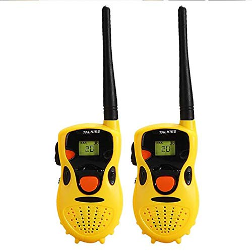 ZXL Equipos Transmisores-Receptores Walkie Talkies para Niños-Juguete Portátil Walkie Talkie Niños Espia Juego Interactive Toy Kid Cute Kid Radio Relogio Interphone