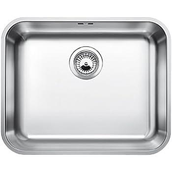 Waschbecken küche edelstahl  Blanco Andano 500-U Edelstahl Unterbau Spüle Spülbecken ...