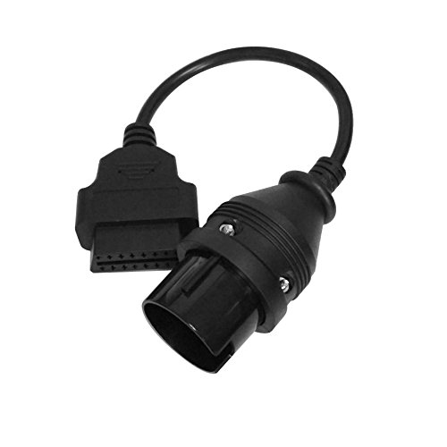 FireAngels Mercedes Benz 38Pin to 16Pin OBD II Female Adapter Connector Cable
