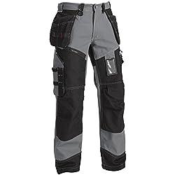 Blakläder 150013709499C46 X1500 Pantalon artisan Taille C46 Gris/Noir
