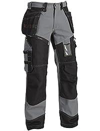 Blakläder 150013709499C58 X1500 Pantalon artisan Taille C58 Gris/Noir