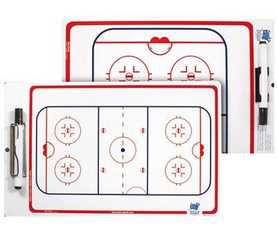 Blue Sports 1095555555 - Portapapeles con pizarra de tácticas para hockey