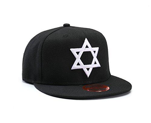 Jüdische 'Davidstern' Snapback Baseball-kappe
