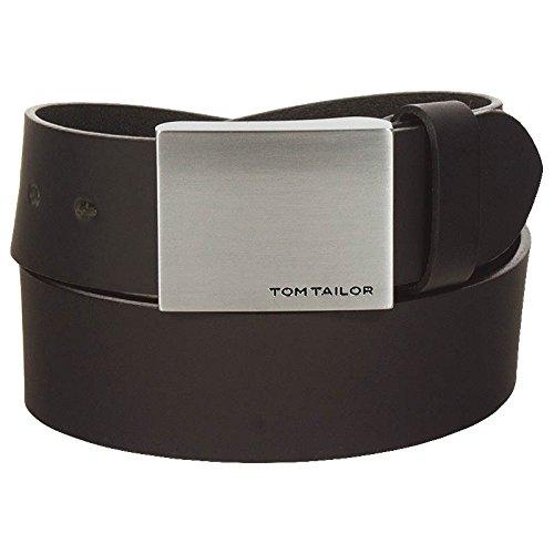 Tom Tailor Herren Leder Koppel Gürtel TG1630H31-690, Länge:90 cm