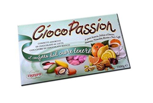 Ciocopassion - confetti crispo gusti assortiti rosa 1 kg (tipologia 1 713625)