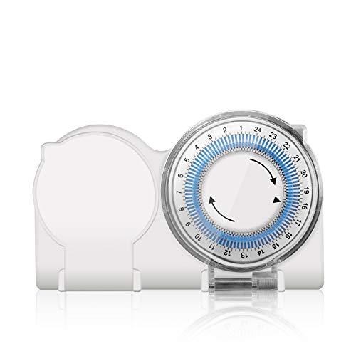 benon Zeitschaltuhr Mechanisch Outdoor, 96 Segmente (15 min), IP44, max. 3680W