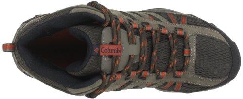 Columbia NORTH PLAINS MID WP BM3895 Herren Trekking & Wanderschuhe Braun (Cordovan, Cedar 231)