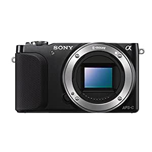 Sony NEX-3NLB Systemkamera (16,1 Megapixel, 7,5 cm (3 Zoll) LCD-Display, Full-HD, HDMI, USB 2.0) inkl. SEL-P 16-50mm Objektiv schwarz