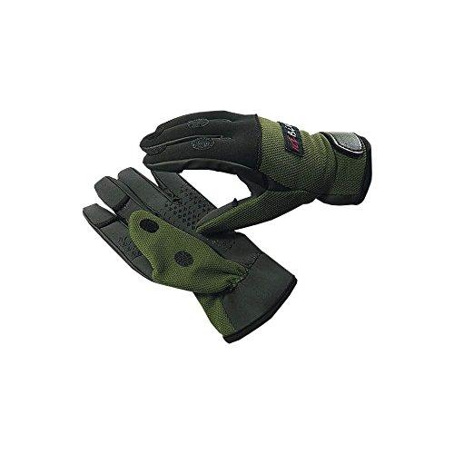 Neopren Angel Handschuhe Winterhandschuhe Angelhandschuhe Outdoor Jagd Handschuh (L)