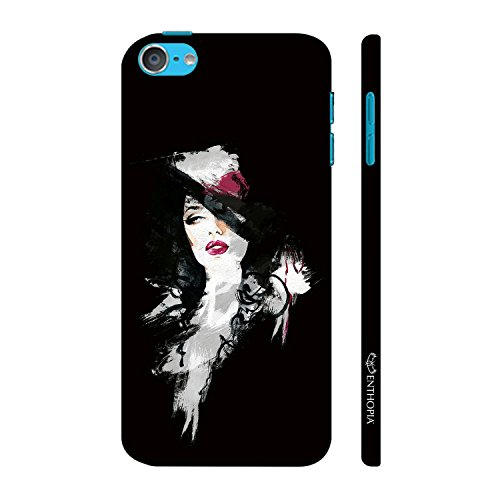 Enthopia Designer Hardshell Case Classic Noir Back Cover for Apple Ipod Touch 6  available at amazon for Rs.599