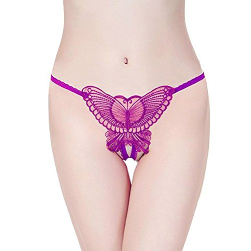 Gopalvilla Presents Purple Color Net & Lace Panty.