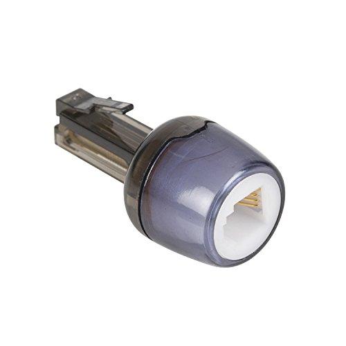 KnnX 28109 - Telefonhörerkabel-Entwirrer - Verhindert EIN Verdrehen des Kabels zwischen Telefonhörer und Telefon - RJ10 (4P4C) - Packung mit 1 Stück -