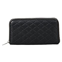 Anekaant Duvet Black PU Wallet