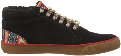 DC Shoes Council Mid WNT M Shoe Bl0, Sneakers Hautes Homme Noir (black Bl0)
