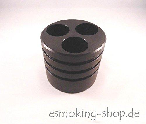 Preisvergleich Produktbild Autohalter für e-Zigaretten - Platz für 3 mal Akkuträger - E-Zigarettenhalter