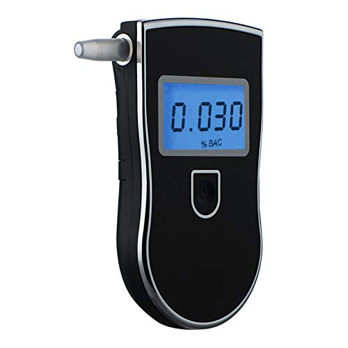 SHMJJC Probador del Alcohol de la policía Digital Detector de Gadgets probador del Alcohol probador...