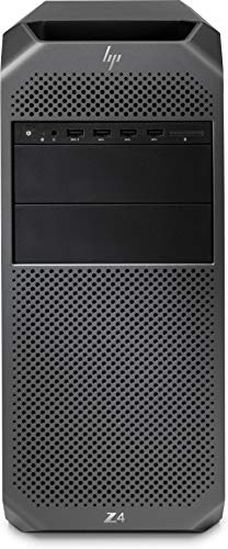 HP Z4 G4 3,70 GHz Intel® E5 W-2135 Schwarz Mini Tower Arbeitsstation - Desktop-PC (3,70 GHz, Intel® Athlon ®, 32 GB, 512 GB, DVD Super Multi, Windows 10 Pro for Workstation)