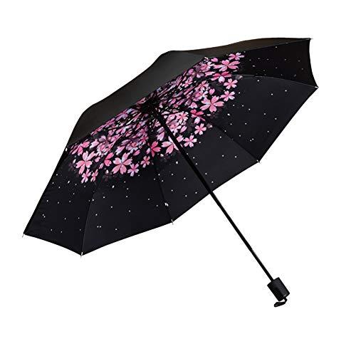 SHILILI Hot Mini Taschenschirm Anti-Uv Sun Rain Tasche Sonnenschirm Frauen Regenschirm Für Männer Sun Rain Gear Sonnenschirm