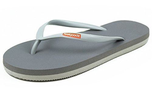 6f1ef7d382ffad Feelgoodz Women s Slimz Natural Rubber FILP Flops - Incredibly Comfortable  and Highly Durable Premium Natural Rubber