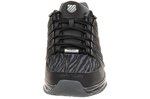Hommes K-Swiss Rinzler SPT Limited Edition Baskets Tigre Style imprimé Chaussure Cuir Schwarz