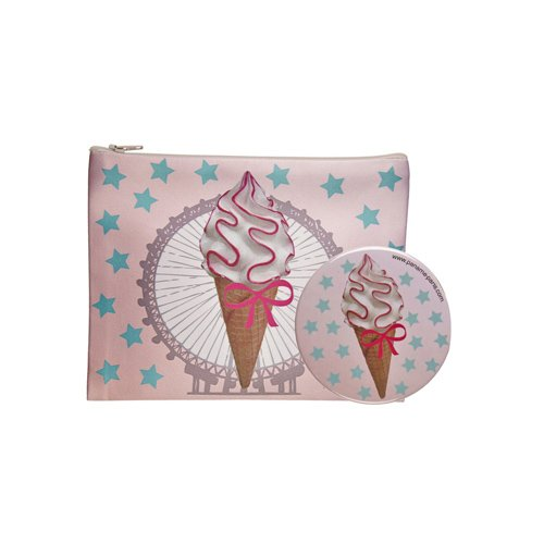 Paname-Paris Coffret Sweet Souvenir Trousse de Maquillage + Miroir