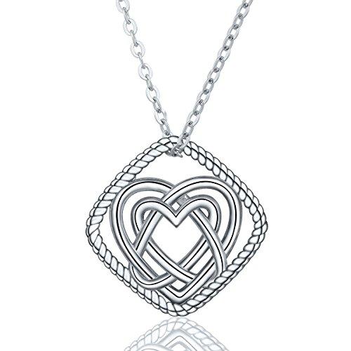 Eudora 925 Sterling Silber Unendliche Liebe Keltischer