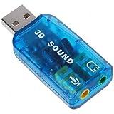 SODIAL(TM) USB 5.1 Adaptateur de carte son st¨¦r¨¦o (compatible Windows 7)