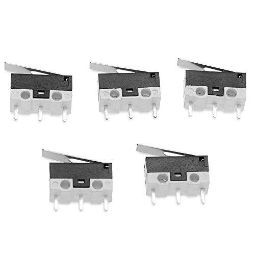 Man-hj LDTR-YJ015 3Dprinter Endschalter Schlagschalter Mikroschalter Empfindlicher Schalter Smart Car Robot Zubehör - Endschalter Mikroschalter