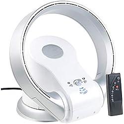 Sichler Haushaltsgeräte Ventilateur sans pale 360° réversible 1100 W LT-1000.VT