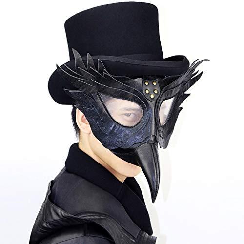 Fee Steampunk Kostüm - ZHLJ Steampunk Pest Schnabel Doktor Maske Maske