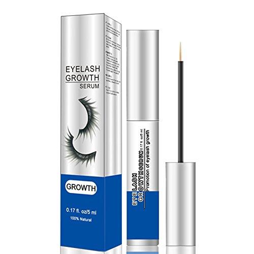 Oshide Wimpernserum Wimpernwachstums-Serum Augenbrauenserum, Wimpern-Conditioner steigert das Wimpernwachstum und mehr Dichte 5ML