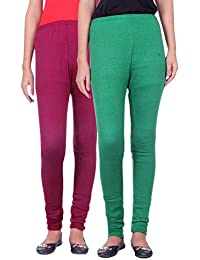 Belmarsh Warm Leggings - Pack of 2 (Mouve_Green)