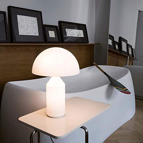 Oluce Atollo 35 Opal - Lámpara de mesa (cristal)