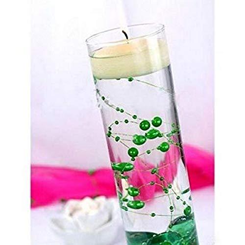 Au Plaisir des Yeux - Guirlande de Perles Vert Emeraude Décoration Mariage