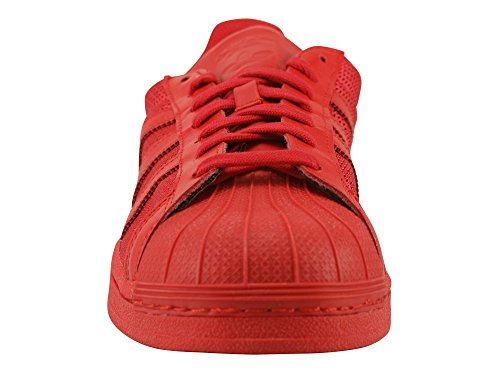 Adidas Superstar, Baskets Unisexes - Rouge Adulte (colred / Colred / Colred)