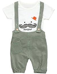 Camisa bebé Niño K-youth® Petos Niños Ropa Recién Nacidos Bebe Niño Ropa Bebé